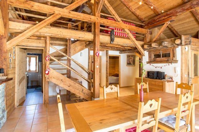 Apartamento con vistas al Mt Blanc