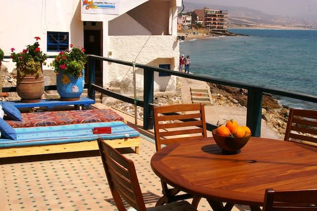 FANTASTIC APARTMENT ON THE BEACH IN TAGHAZOUT.