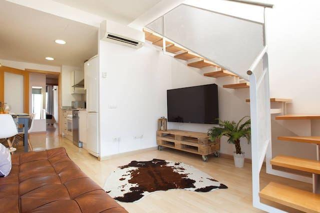Apartamento de 1 habitación en Canet de mar