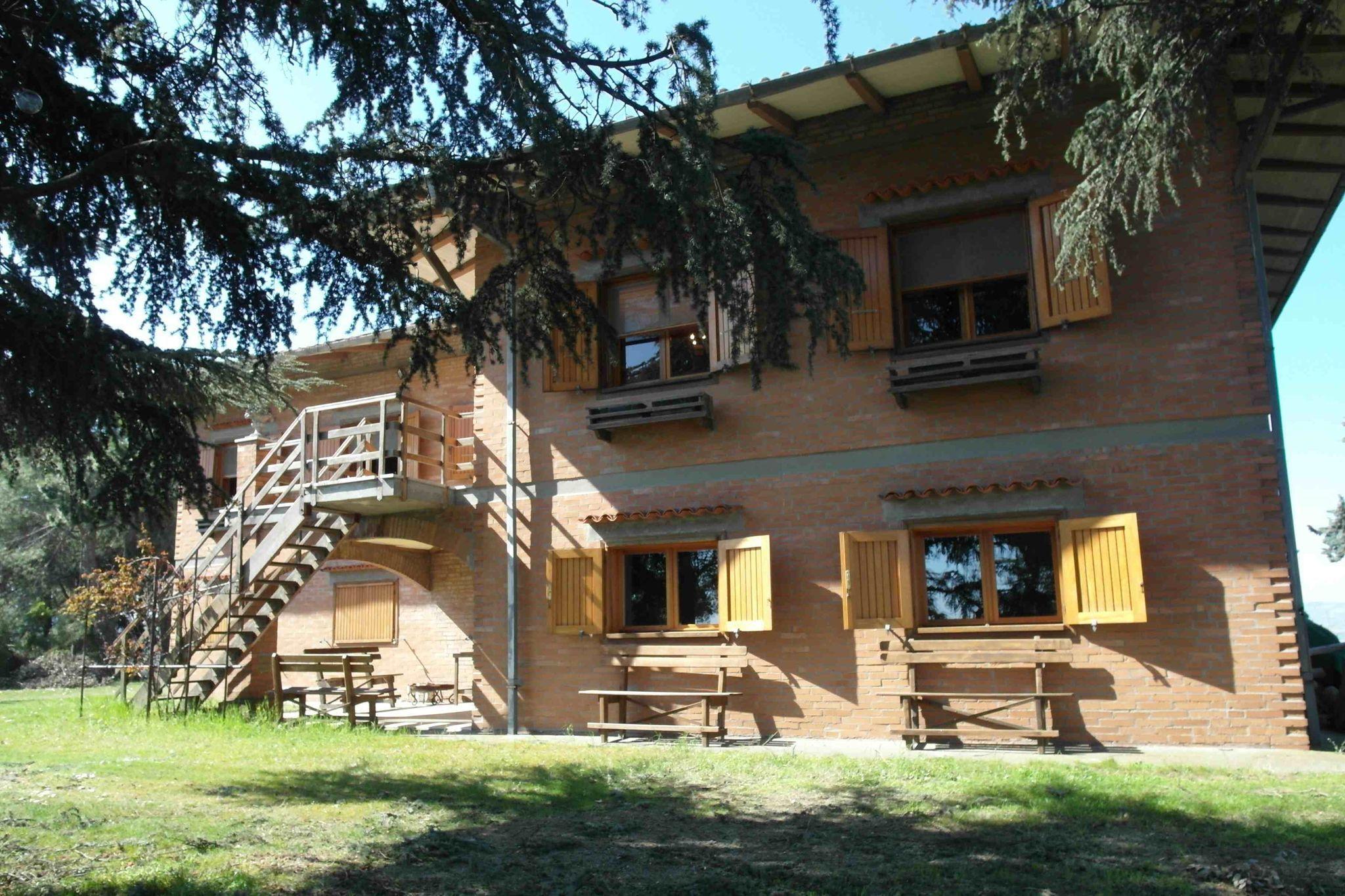 Casa para 12 personas con balcón