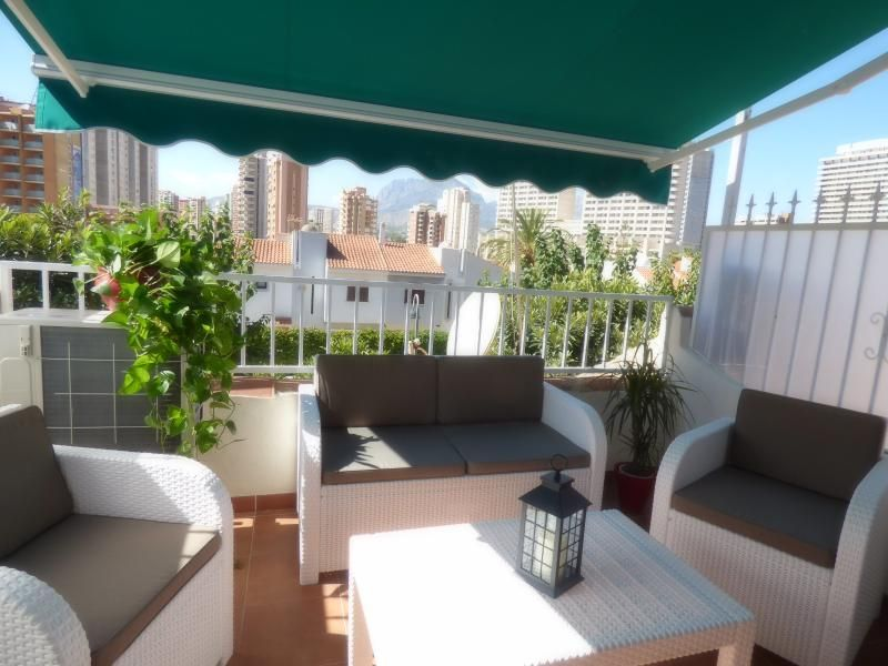 Picturesque holiday rental for 4 in Benidorm