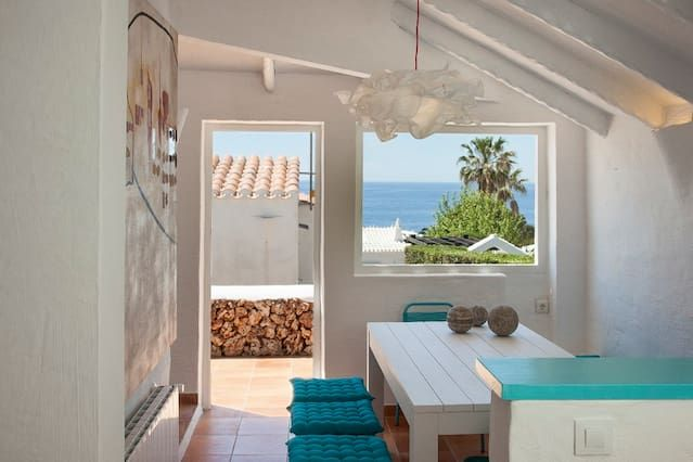 Casa en Menorca con vista mar