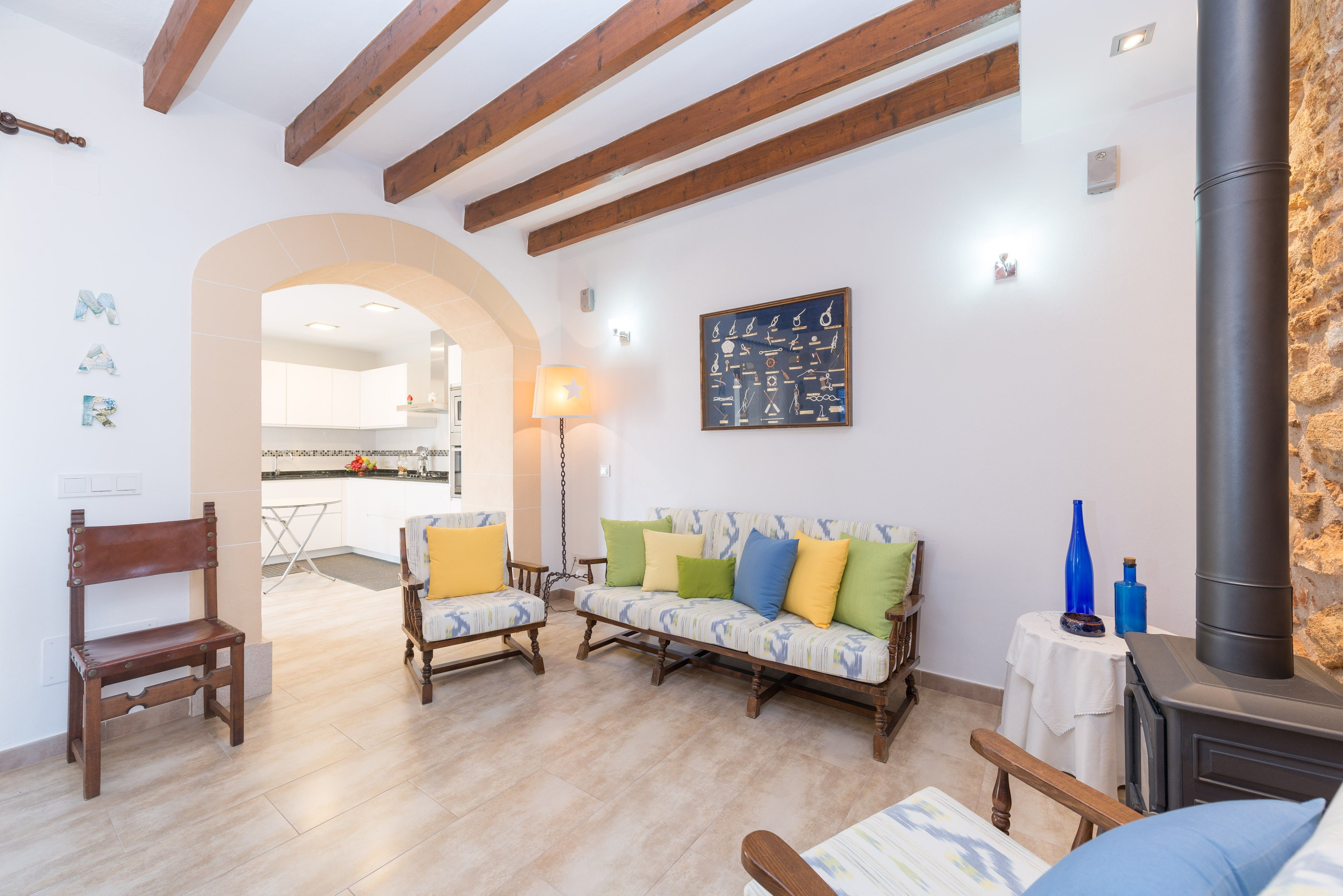 Flat with 3 rooms in Colonia de san pedro