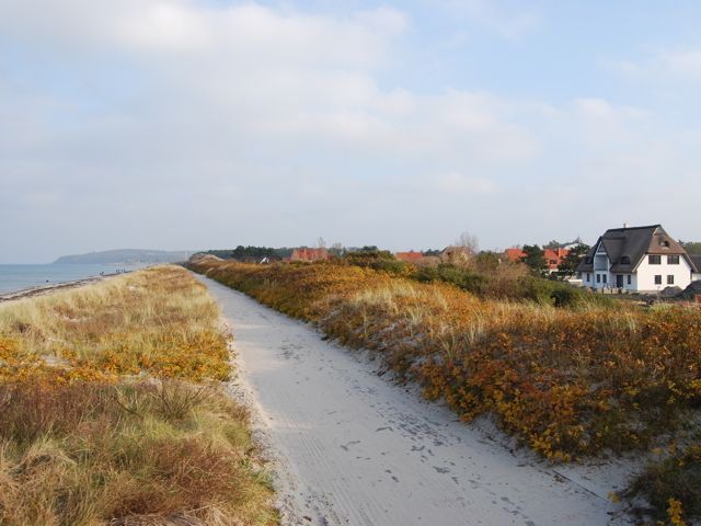 Ferienwohnung Hiddensee mit Ostseeblick - Fewo III (Meeresrauschen)
