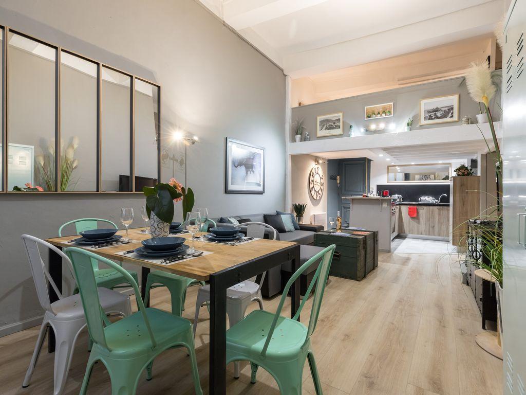 Hébergement de 70 m² à 3 chambres