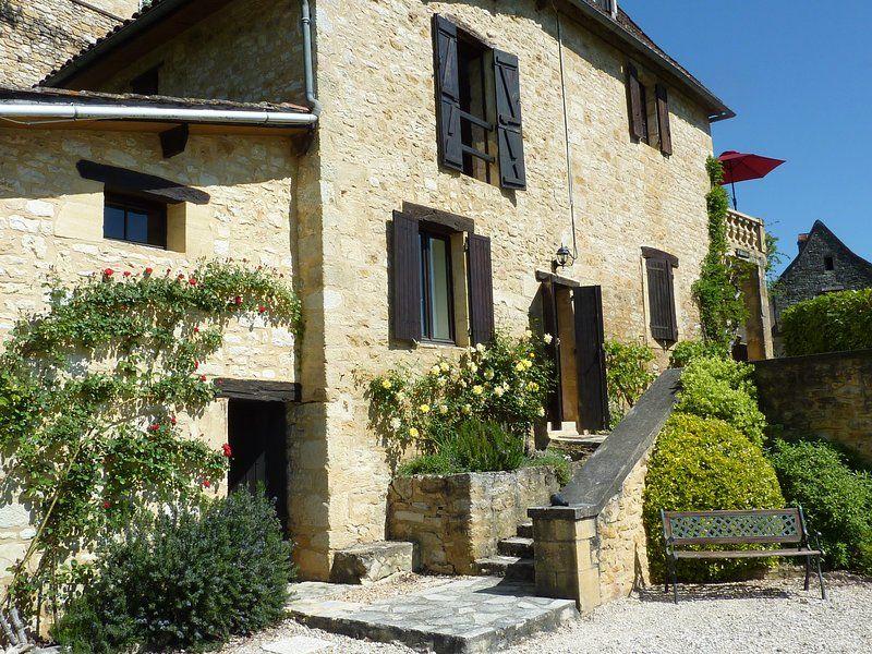 Le Rouquet-Garten-Wohnung