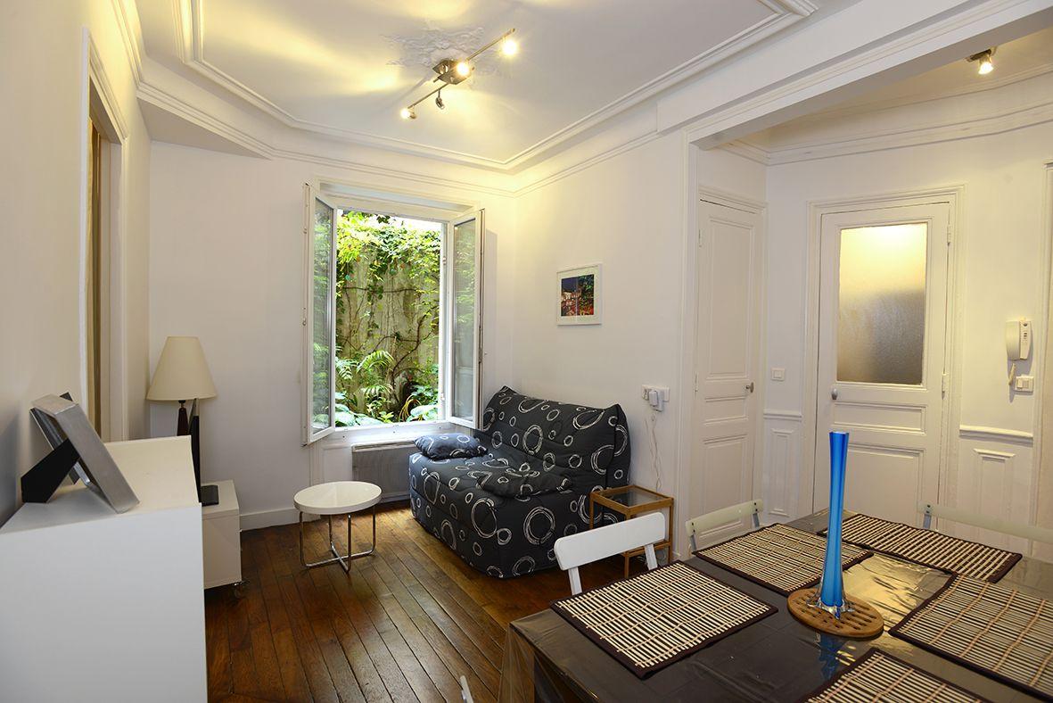 Apartamento turístico luminoso en parís para 4