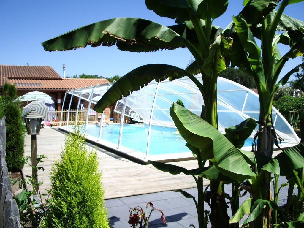 Residencia en Gironde para 10 huéspedes