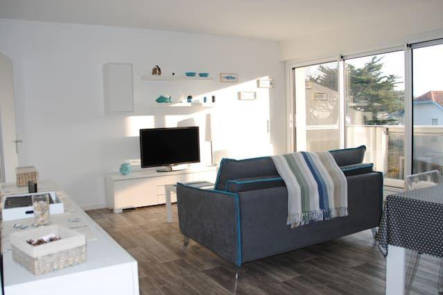 Hébergement à 1 chambre à Vaux-sur-mer
