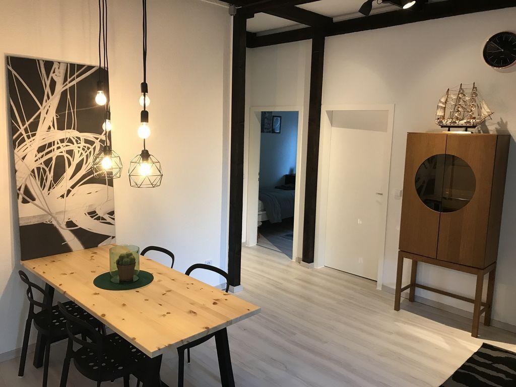 Praktische Ferienunterkunft mit 3 Zimmern