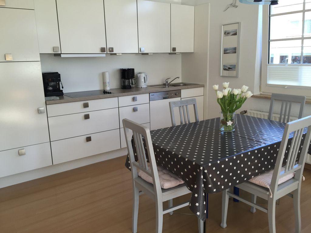 Apartment auf 62 m² mit Garten