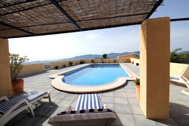 A two bedroom casita with private 10x5 pool