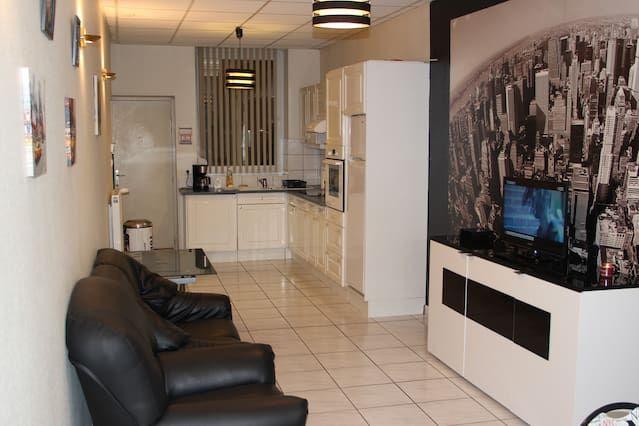 Provisto alojamiento de 60 m²