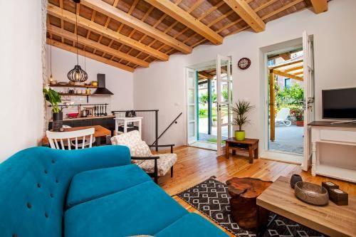 Chalet mit Balkon und 1 Zimmer
