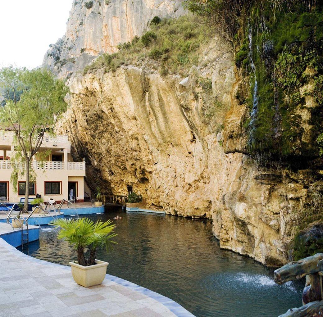 Manantial del Hotel Spa Balneario de la Virgen