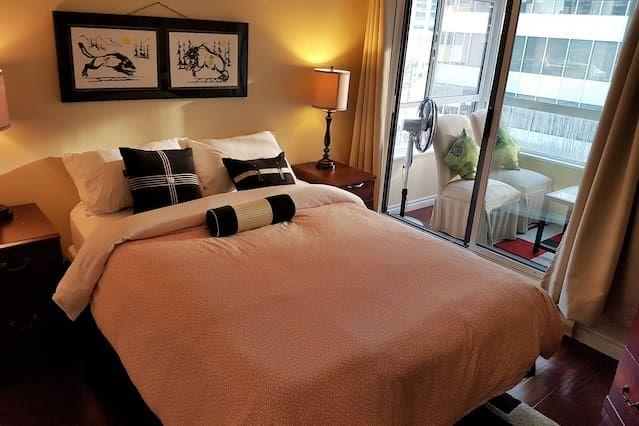 Alojamiento en Vancouver de 1 habitación