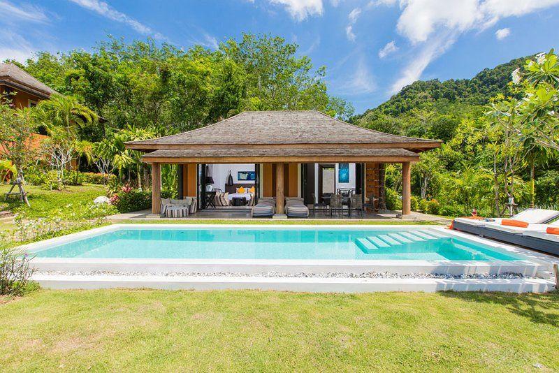 Alojamiento con jardín en Ko yao noi