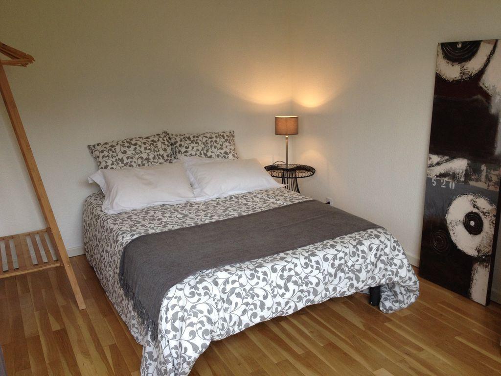 Hébergement bien équipé avec 1 chambre