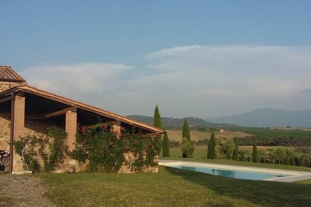 Hermosa villa en el campo de la Toscana