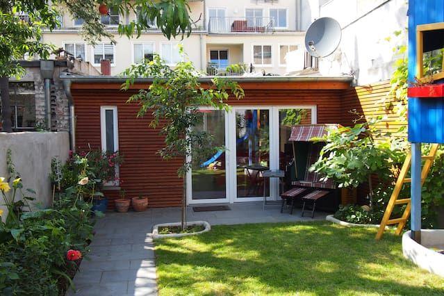 Gemütliche Wohnung mit Garten