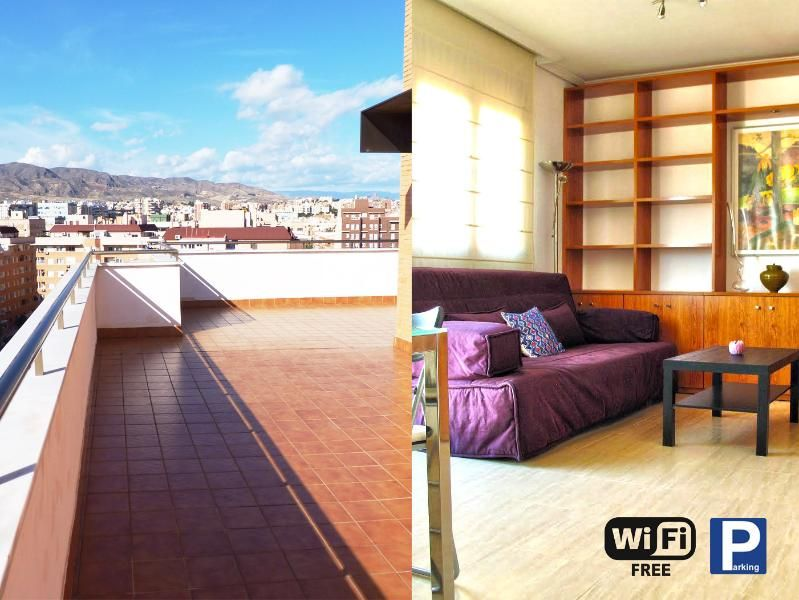 Holiday rental with 3 rooms in Almeria
