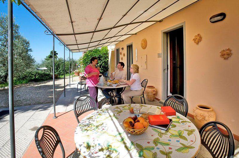 Casa vacanze con giardino di 2 camere