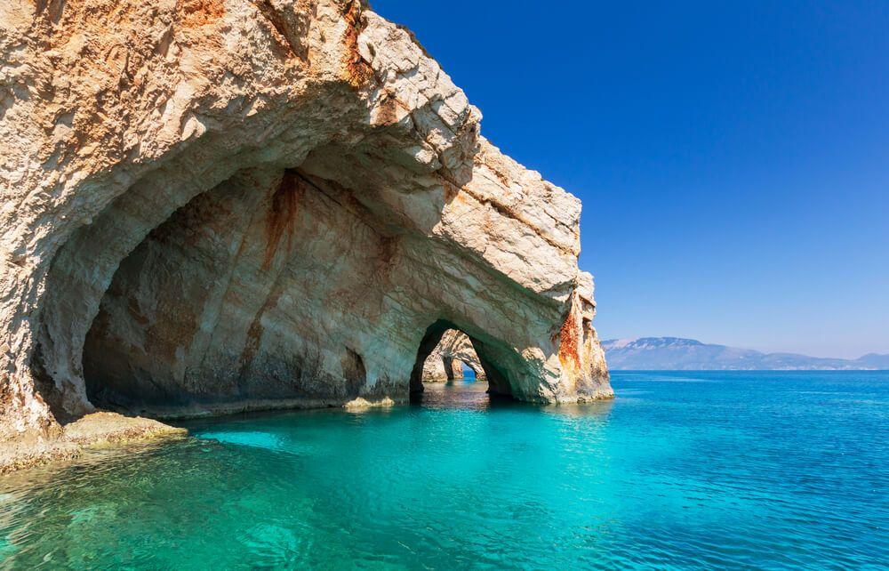 Blaue Grotten Zakynthos