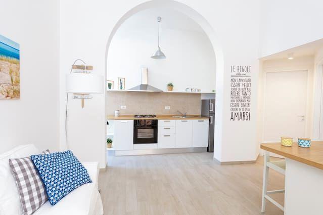Apartamento de 1 habitación en Santa maria al bagno