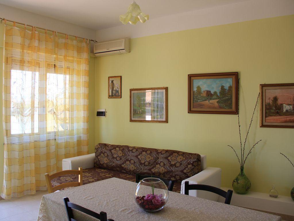 Appartement à 2 chambres avec balcon