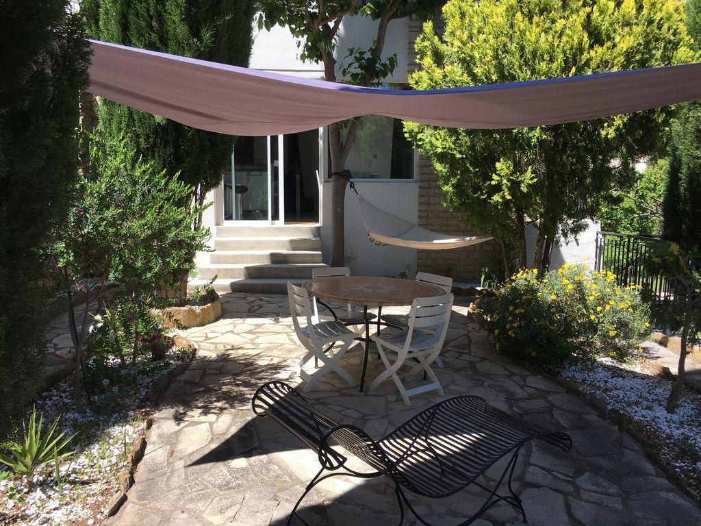 Vivienda para 4 personas con jardín