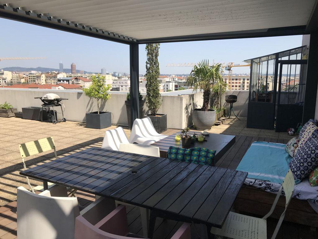 Appartement à Lyon de 4 chambres