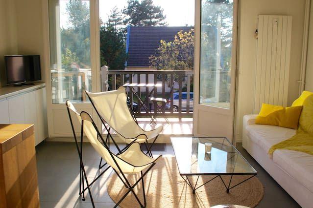 Apartamento en Tourgeville con balcón
