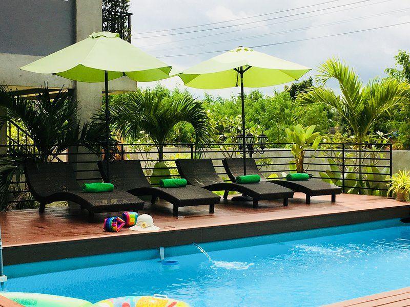 Alojamiento con jardín en Chiang mai