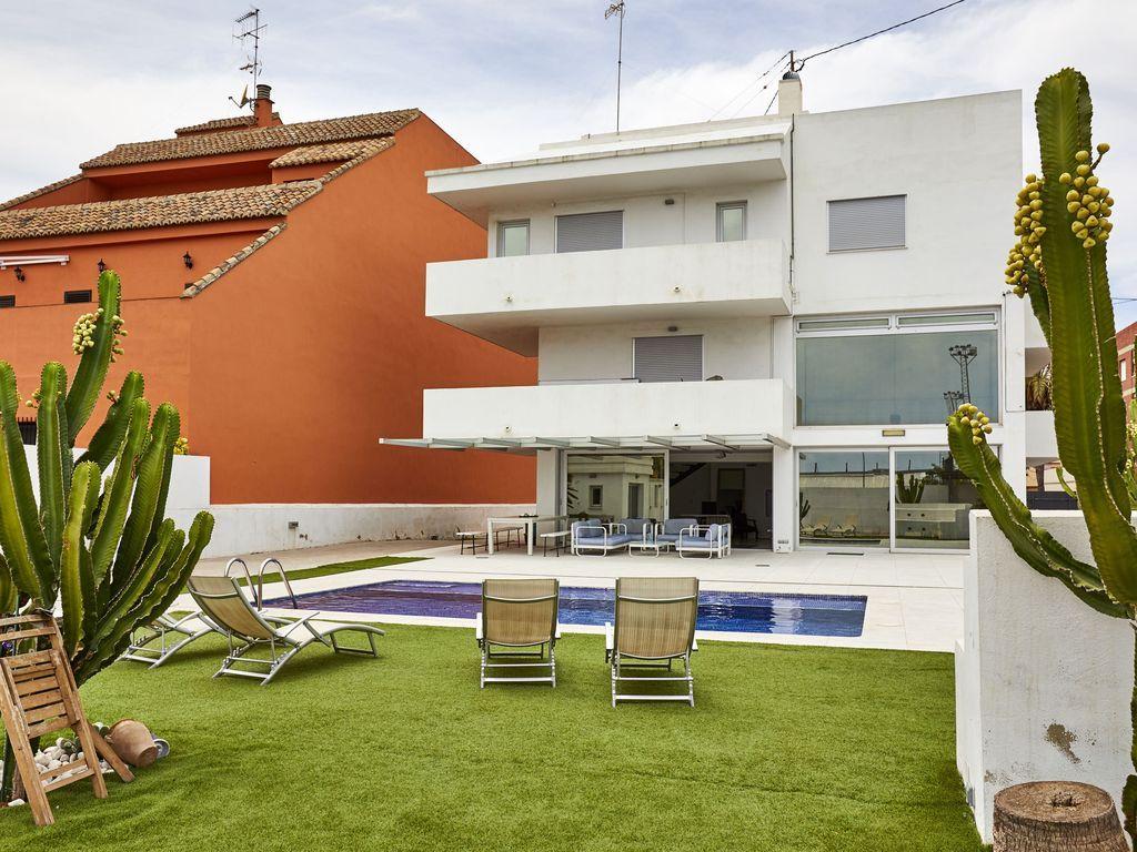 Casa en Puebla de farnals para 19 personas
