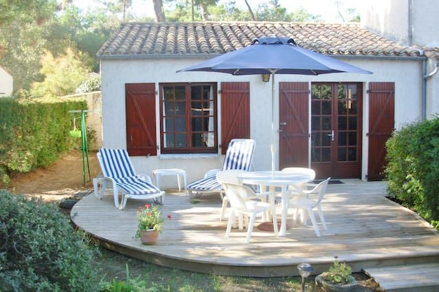 Alojamiento con jardín de 58 m²