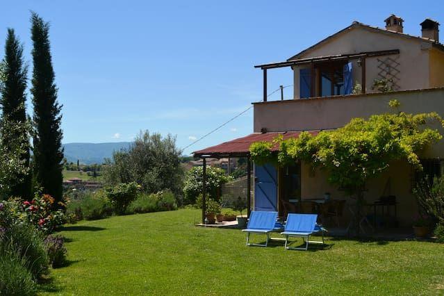 Casa con balcón de 1 habitación