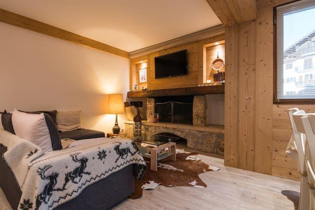 Residencia en Megève para 4 huéspedes