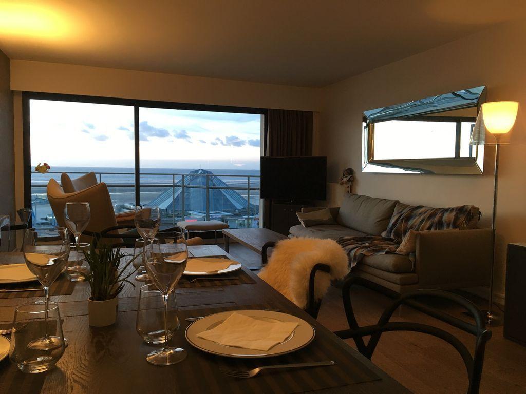 Vivienda en Le touquet-paris-plage con balcón