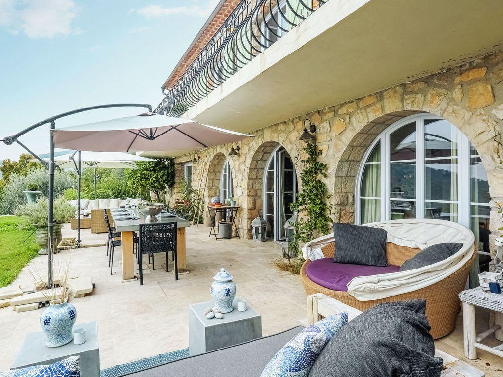 Alojamiento para 8 huéspedes en Grasse