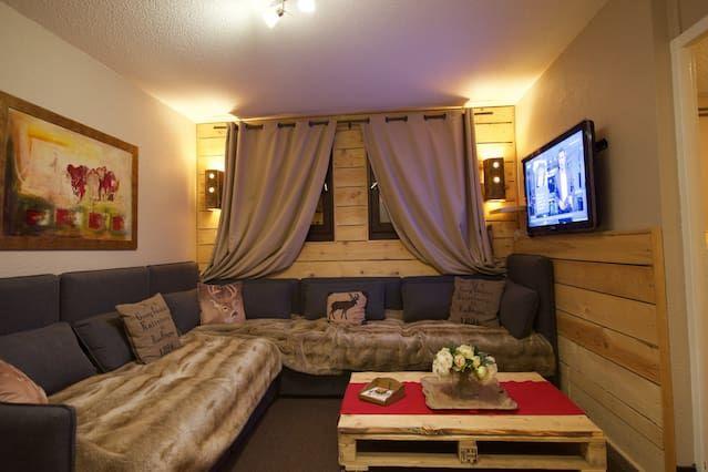 Apartamento en Isola 2000 de 2 habitaciones