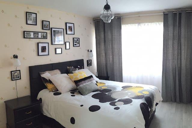 Alojamiento de 1 habitación con parking incluído