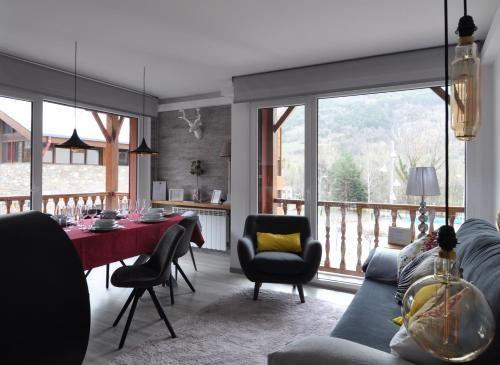 Eingerichtete Ferienwohnung mit 1 Zimmer