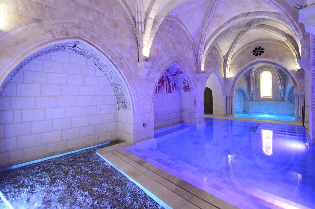 Baños termales del Monasterio de Valbuena