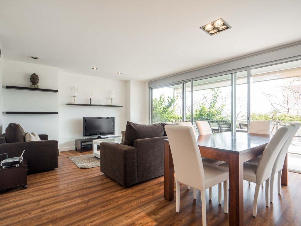 Apartamento con balcón de 3 habitaciones