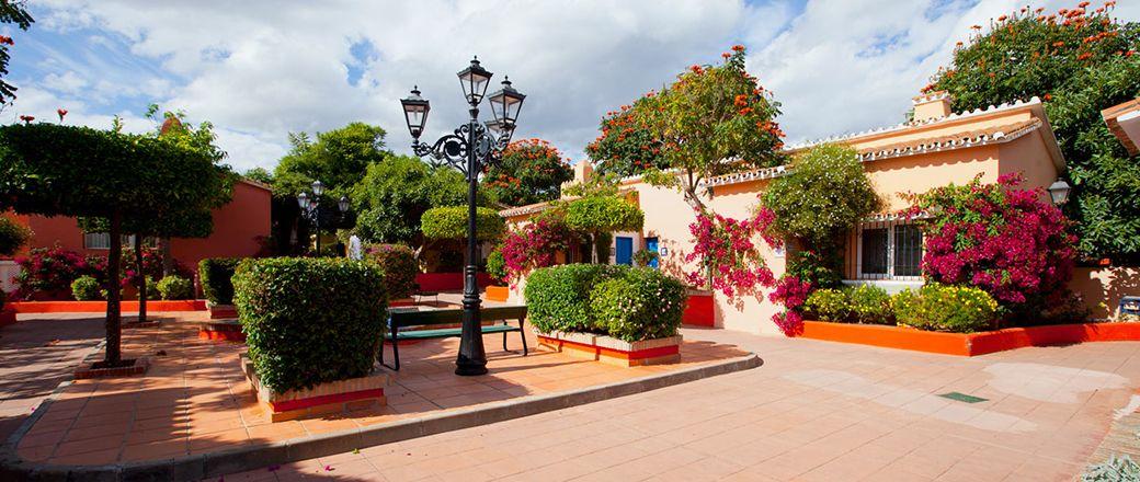 Pueblo andaluz del Hotel Marbella Playa