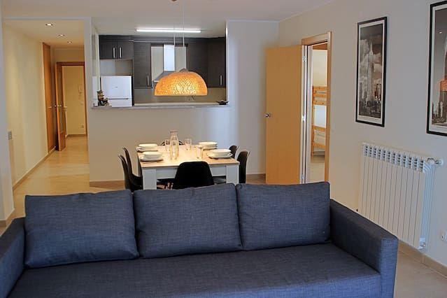 Bien équipé appartement à 2 chambres