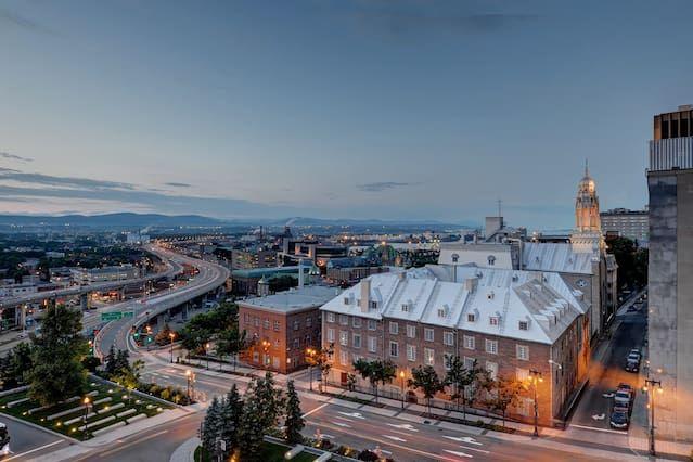 condominios encuentra en el centro del casco antiguo de la ciudad de Quebec