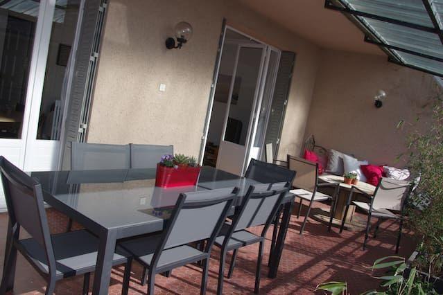 Apartamento equipado de 53 m²