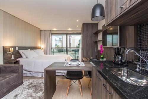 Appartement équipé avec 1 chambre