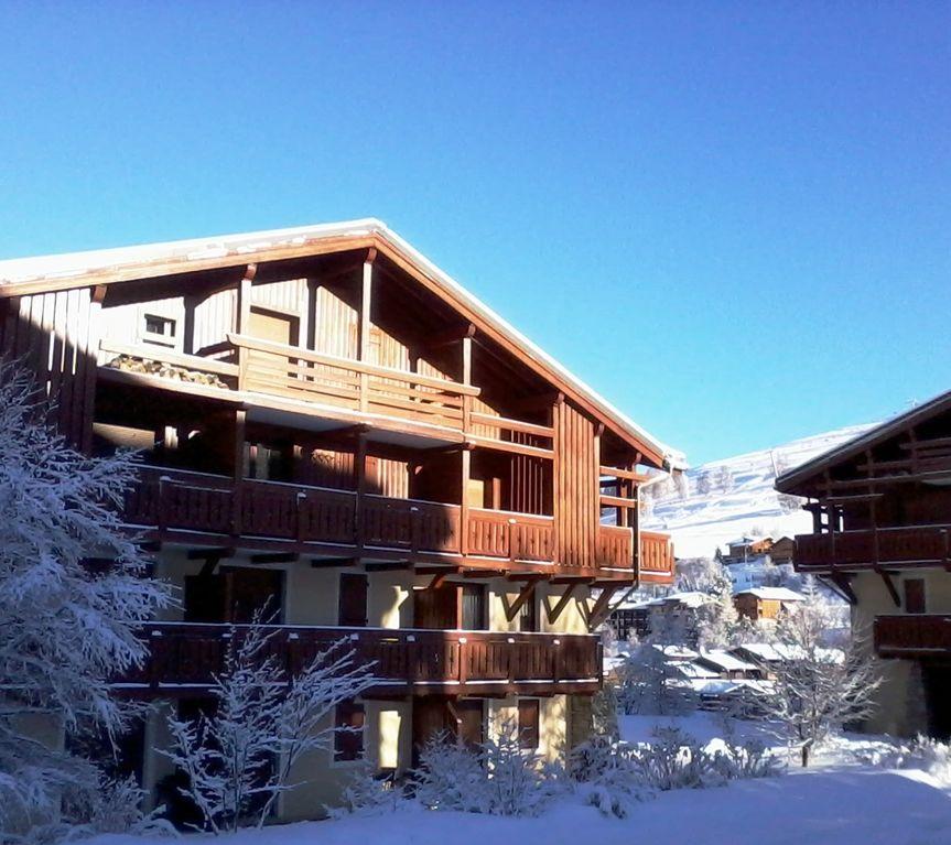 Alojamiento de 32 m² con balcón